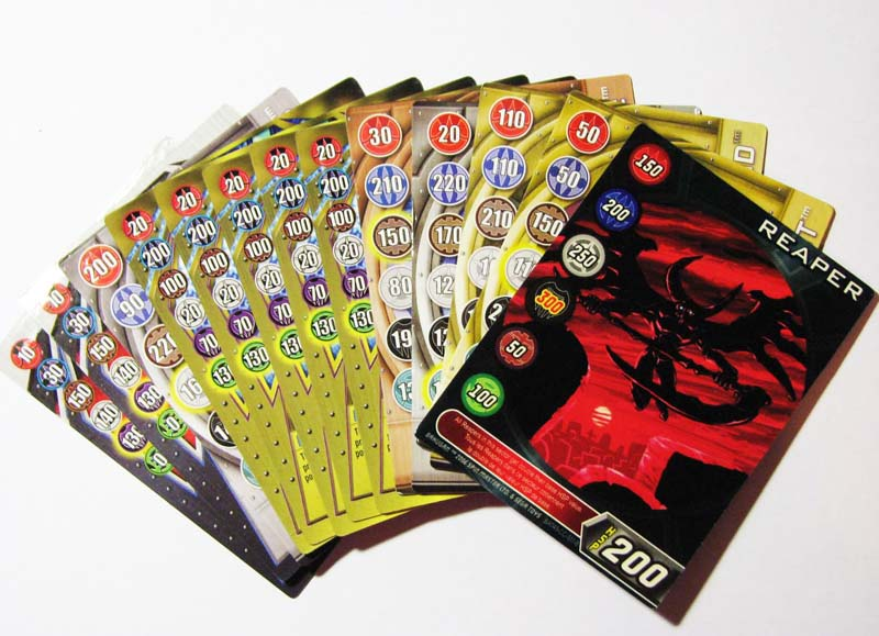 Bakugan Metal Cards