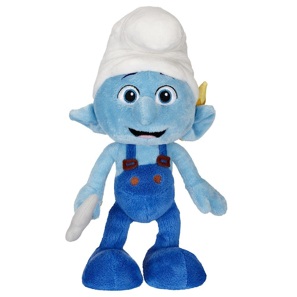 Смурфик  Хэнди (Smurfs Bean Bag Plush Handy)