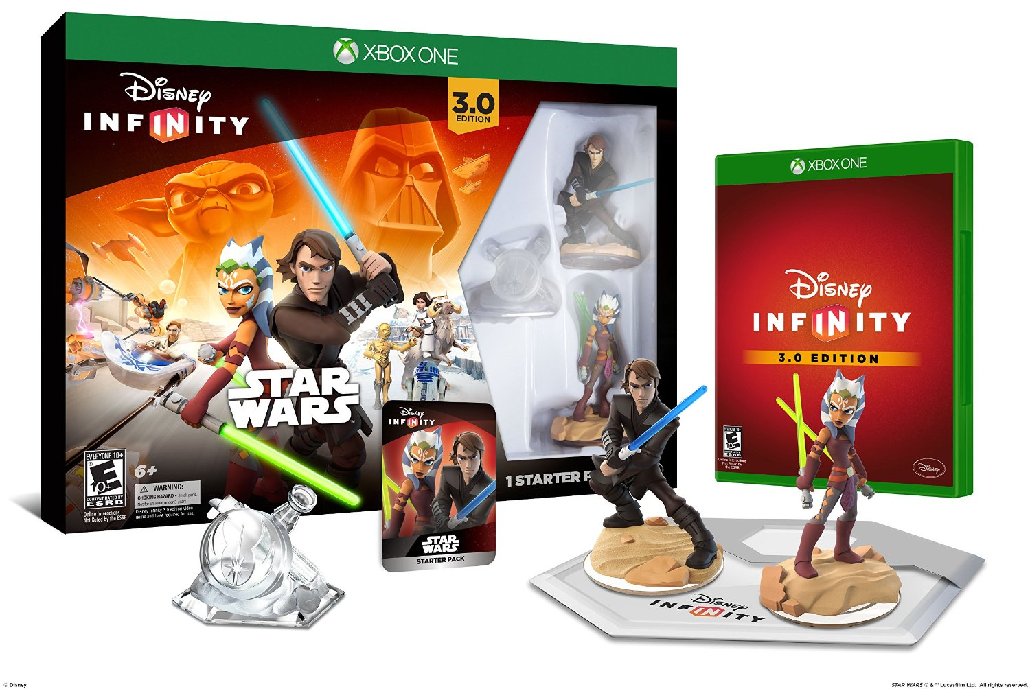 DISNEY INFINITY 3.0 Star Wars Edition Starter Pack (Xbox One)