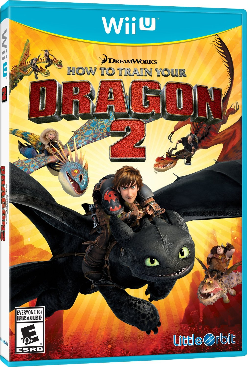 How to Train Your Dragon 2: The Video Game (Nintendo Wii U)