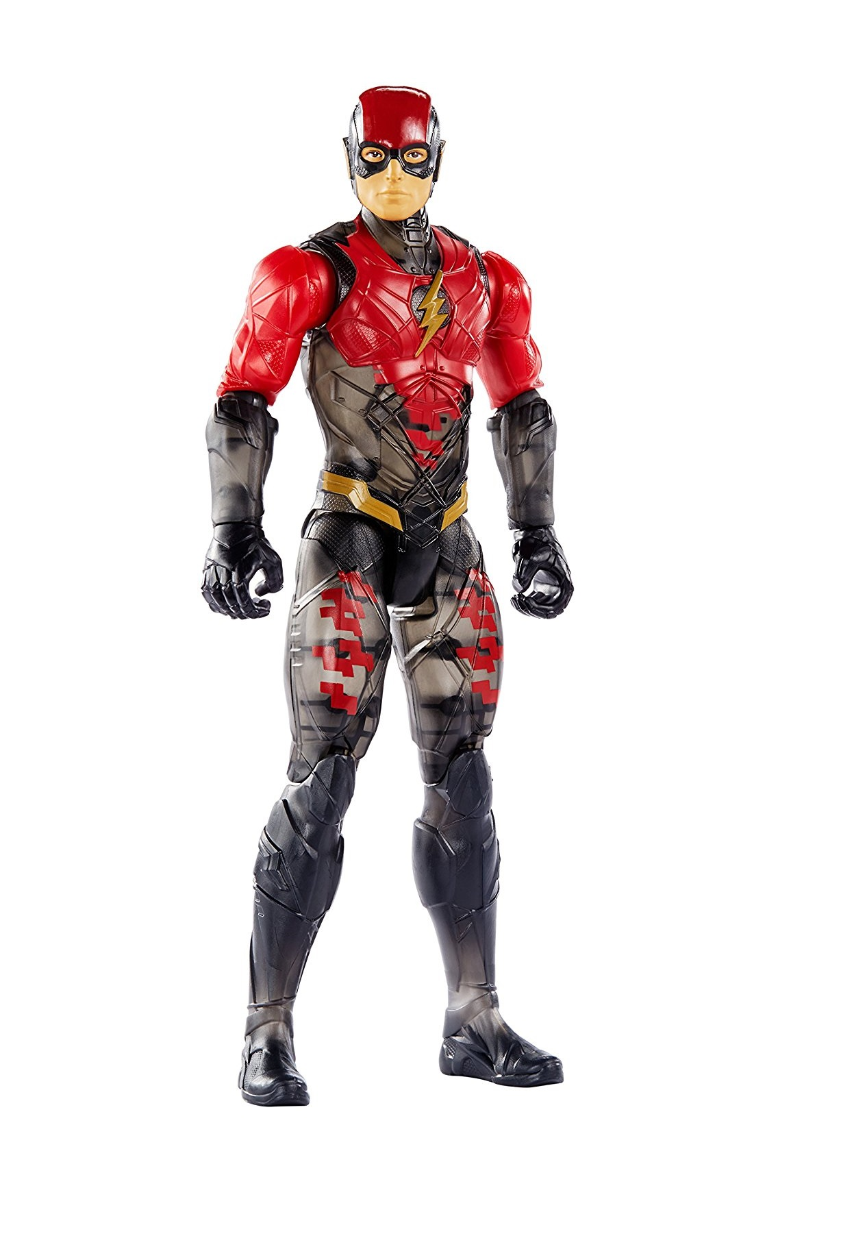 "Игрушка Флэш (DC Comics Multiverse Justice League Movie The Flash Figure)Лига Справедливости: Флэш стелс (DC Comics Stealth Suit the Flash Action Figure, 12"")"
