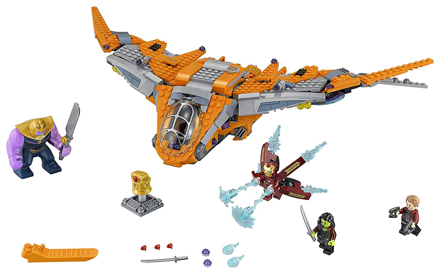 Конструктор Мстители (LEGO Marvel Super Heroes Avengers: Infinity War Thanos: Ultimate Battle 76107 Guardians of the Galaxy Starship Action Construction Toy and Building Kit)