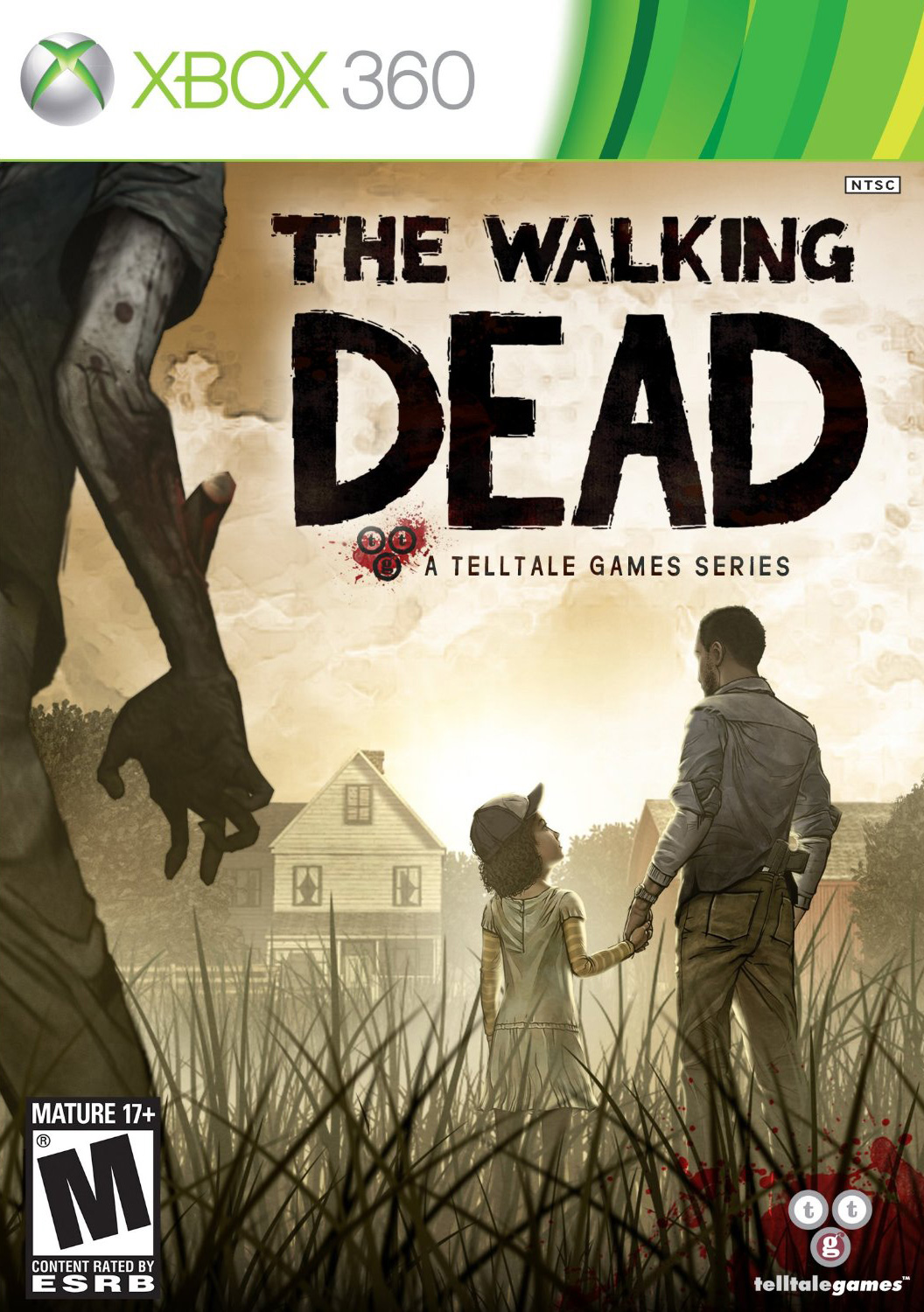 The Walking Dead: The Game NTSC (Xbox 360)