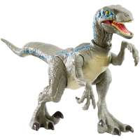 Игрушка Мир Jurassic World Savage Strike Velociraptor Blue