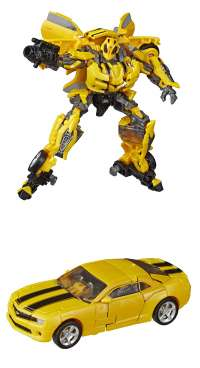 Игрушка Трансформеры Бамблби (Transformers: Movie 1 - Deluxe Class Bumblebee Action Figure)