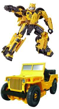 Трансформеры: Бамблби Делюкс (Transformers: Series 57 Deluxe Class Bumblebee Movie Offroad Bumblebee Action Figure)