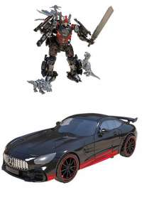 Трансформеры: Дрифт (Transformers: The Last Knight - Delux Class Drift with Mini Dinobots Action Figure)