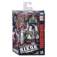 Игрушка Трансформеры Война за Кирбертрон Осада Делюкс Хаунд (Transformers Generations War for Cybertron: Siege Deluxe Class WFC-S9 Autobot Hound) BOX