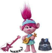 Тролли: Поппи (Trolls World Tour Pop-to-Rock Poppy Singing Doll with 2 Different Looks and Sounds)