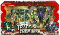 Transformers: Revenge of the Fallen Back Road Brawl: AUTOBOT HOIST VS DESEPTICON MIXMASTER #1