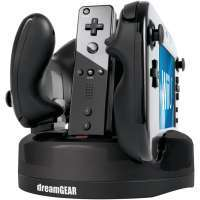 DreamGEAR Wii U Quad Dock Revolution Charger
