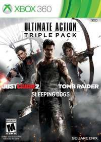 Just Cause 2, Sleeping Dogs, Tomb Raider Ultimate Action Triple Pack (Xbox 360)