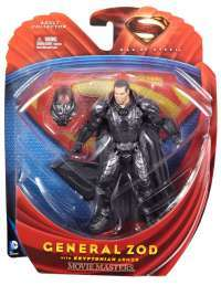 Man of Steel Movie Masters General Zod with Kryptonian Armor #1