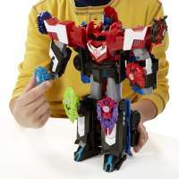 Transformers Robots in Disguise Mega 3-Step Changers Optimus Prime #6