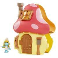 Игрушка Смурфити с домиком (Smurfs The Lost Village Mushroom House Playset with Smurfette Figure)