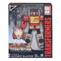 Transformers Generations Titans Return Leader Class Autobot Blaster and Twin Cast #2