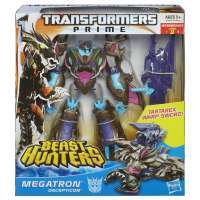 Transformers: PRIME Beast Hunters Voyager Sharkticon MEGATRON #1
