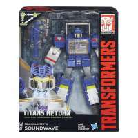 Transformers Generations Titans Return Leader Class Soundwave and Soundblaster #2