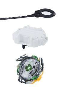 Бейблейд Генезис Валтрайек V3 [Beyblade Burst Evolution SwitchStrike Genesis Valtryek V3 Green-grey]