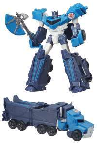 Transformers Robots in Disguise 9-Steps Warrior Class Blizzard Strike Optimus Prime