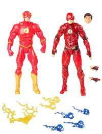 Игрушки Флэш (DC Comics Multiverse The Flash Figures 2 set)