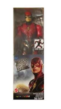 "Игрушка Флэш (DC Comics Multiverse Justice League Movie The Flash Figure)Лига Справедливости: Флэш стелс (DC Comics Stealth Suit the Flash Action Figure, 12"") #box"