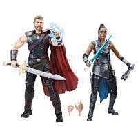 Фигурки Тор: Рагнарек - Тор и Валькирия (Marvel Legends Thor: Ragnarok Thor & Marvel's Valkyrie)