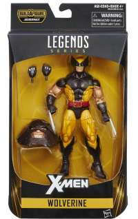X-Men Marvel Legends Series Wolverine box
