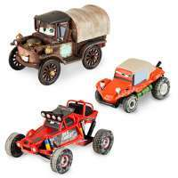 Тачки: Мэтр Внедорожный Набор (Cars: Toons THE RADIATOR SPRINGS 500 Mater Off Road Series Die Cast Set)