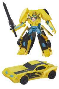 Transformers Robots in Disguise 7-Step Warrior Class Night Strike Bumblebee