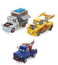Игрушки Тачки Taco Truck Mater, Drag Star Mater, and Ivan Mater
