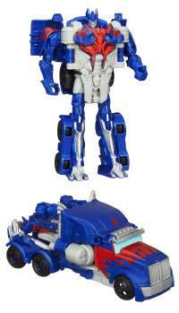 Transformers: Age of Extinction One-Step Changer Optimus Prime