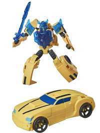Трансформеры: Кибервселенная Хаммербайт (Transformers: Bumblebee Cyberverse Adventures Action Attackers Warrior Class Hammerbyte Action Figure)