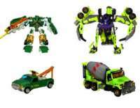 Transformers: Revenge of the Fallen Back Road Brawl: AUTOBOT HOIST VS DESEPTICON MIXMASTER