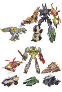 Transformers: Platinum Edition Grimlock vs. Bruticus
