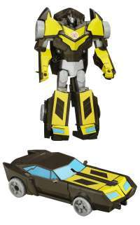 Transformers Robots in Disguise 3-Step Changers Night Ops Bumblebee