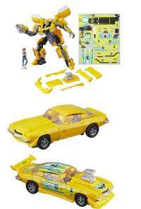 Трансформеры: Кланкер Бамблби (Transformers: Movie 1 Deluxe Class Clunker Bumblebee Action Figure)