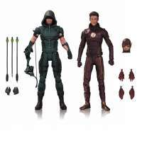Фигурки DC Comics: Стрела и Флеш (DC Collectibles TV: Arrow & The Flash Action Figure 2 Pack)