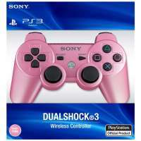Dual Shock 3 Controller Candy Pink оригинал (PS3) #1